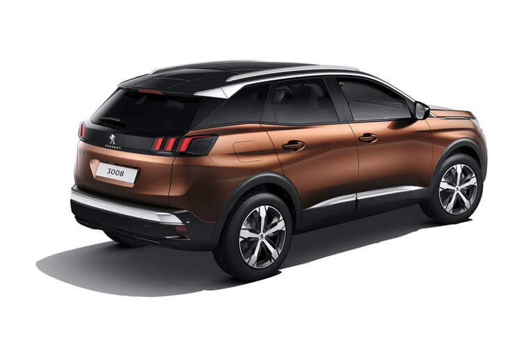 Peugeot 3008 SUV 1.2 PureTech 130PS Allure Premium 5Dr Manual [Start Stop] back view
