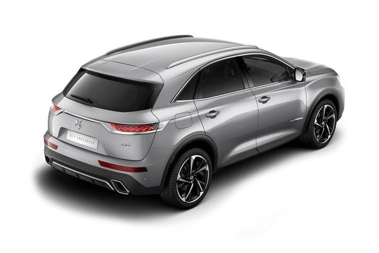 DS Automobiles DS 7 Crossback SUV 5Dr 1.6 PureTech 180PS Ultra Prestige 5Dr EAT8 [Start Stop] back view