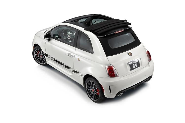Abarth 595 C Cabrio 1.4 T-Jet 180PS Competizione 70th 2Dr Auto back view