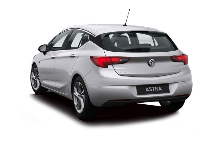 Vauxhall Astra Hatch 5Dr 1.2 Turbo 110PS SE 5Dr Manual [Start Stop] back view