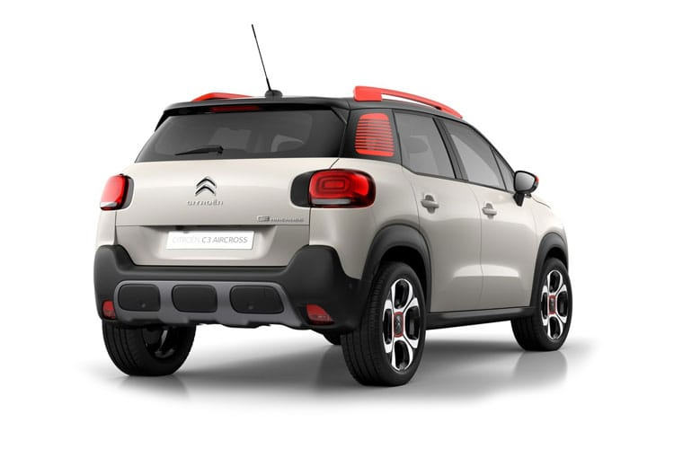 Citroen C3 Aircross SUV 1.2 PureTech 130PS Shine Plus 5Dr EAT6 [Start Stop] back view