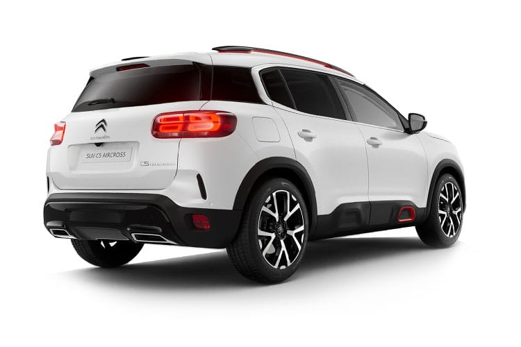 Citroen C5 Aircross SUV 1.5 BlueHDi 130PS Shine 5Dr EAT8 [Start Stop] back view