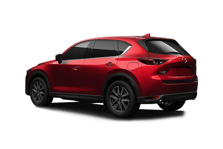 Mazda CX-5 SUV 4wd 2.2 SKYACTIV-D 184PS GT Sport 5Dr Auto [Start Stop] back view