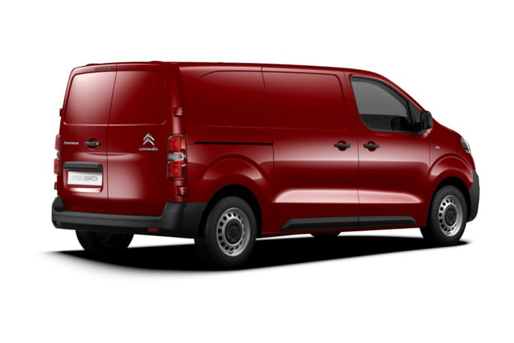 Citroen Dispatch M 1400Kg 2.0 BlueHDi FWD 120PS Worker Van Manual [Start Stop] back view