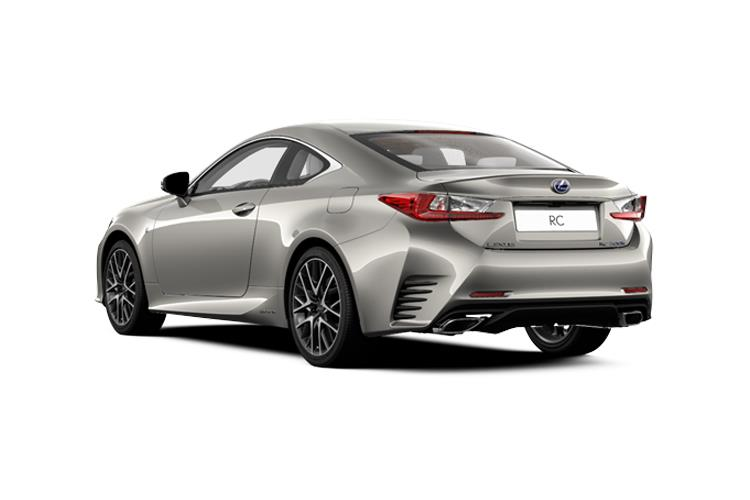 Lexus RC 300h Coupe 2.5 h 223PS F-Sport 2Dr E-CVT [Start Stop] [Takumi] back view