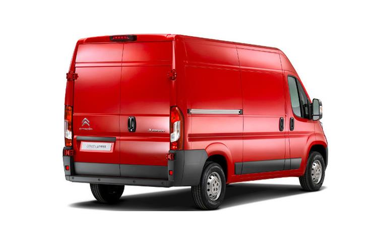 Citroen Relay 35 L3 2.2 BlueHDi FWD 140PS Driver Van High Roof Manual [Start Stop] back view