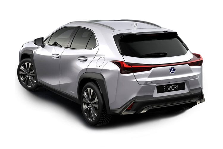 Lexus UX 250h SUV 2.0 h 184PS F-Sport 5Dr E-CVT [Start Stop] [Tech Safety] back view