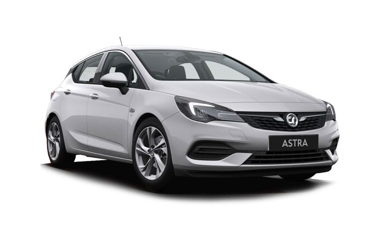 Vauxhall Astra Hatch 5Dr 1.2 Turbo 110PS SE 5Dr Manual [Start Stop] front view