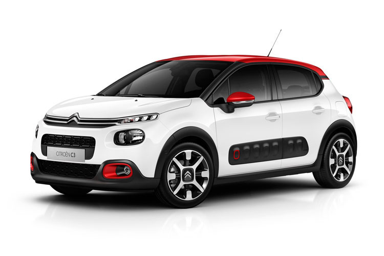Citroen C3 Hatch 5Dr 1.2 PureTech 83PS Feel 5Dr Manual [Start Stop] front view