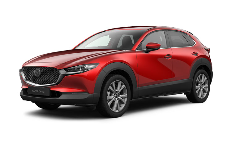 Mazda CX-30 SUV 4wd 2.0 e-SKYACTIV X MHEV 186PS GT Sport Tech 5Dr Manual [Start Stop] [Stone Leather] front view