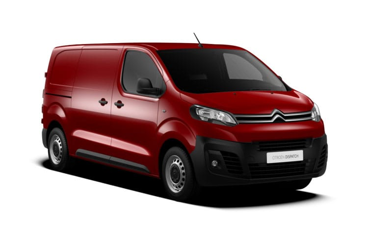 Citroen Dispatch M 1400Kg 2.0 BlueHDi FWD 120PS Worker Van Manual [Start Stop] front view