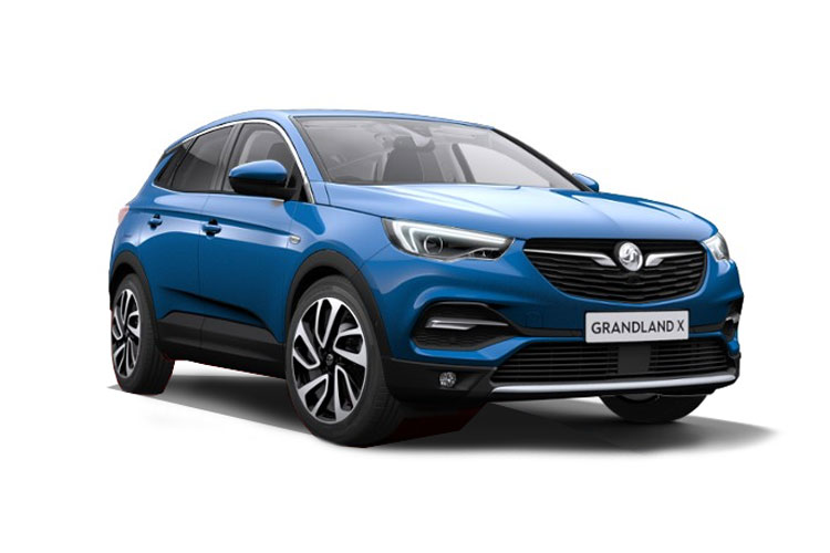 Vauxhall Grandland X SUV 1.2 Turbo 130PS Elite Nav 5Dr Auto [Start Stop] front view