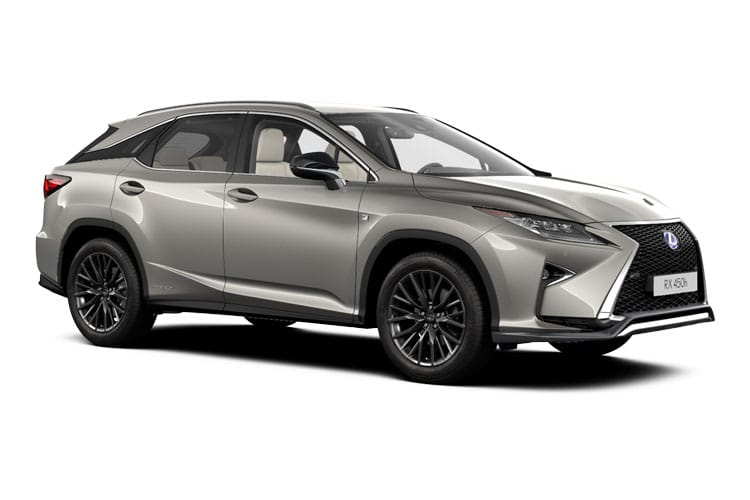 Lexus RX 450h SUV 4wd 3.5 h V6 313PS F-Sport 5Dr E-CVT [Start Stop] [Takumi SRoof] front view
