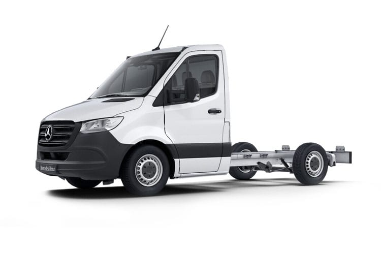 Mercedes-Benz Sprinter 317 L2 3.5t 2.0 CDi RWD 170PS Progressive Chassis Cab G-Tronic [Start Stop] front view