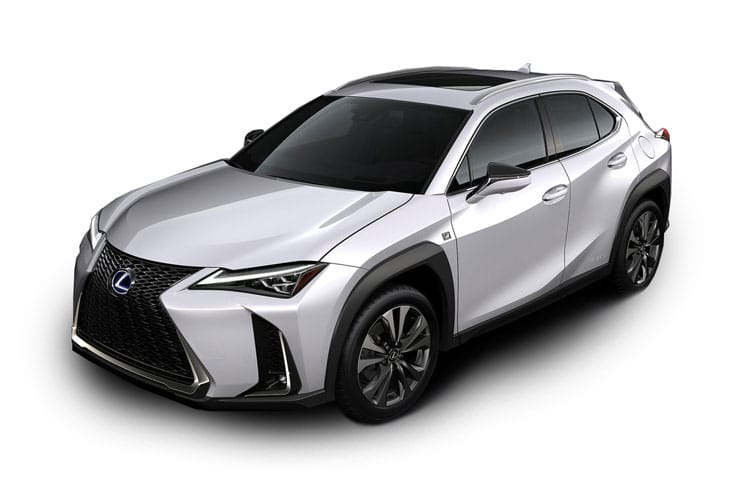 Lexus UX 250h SUV 2.0 h 184PS F-Sport 5Dr E-CVT [Start Stop] [Tech Safety] front view