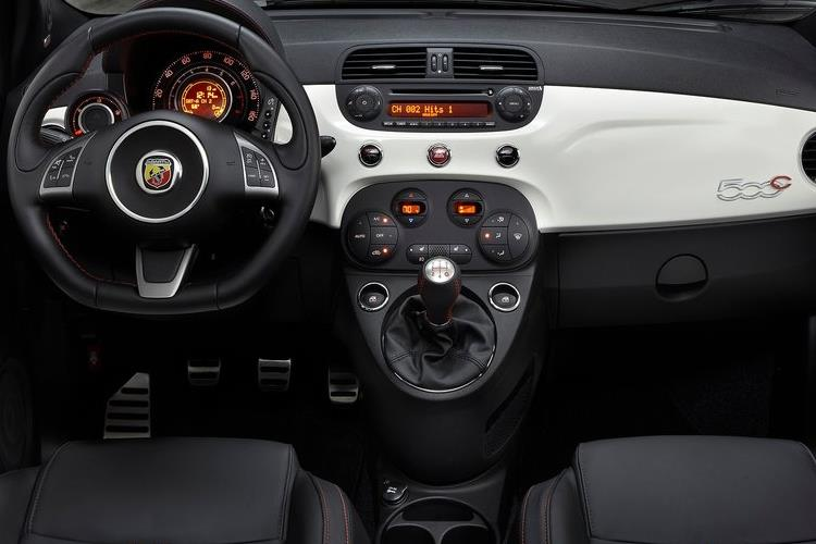 Abarth 595 C Cabrio 1.4 T-Jet 180PS Competizione 70th 2Dr Auto inside view