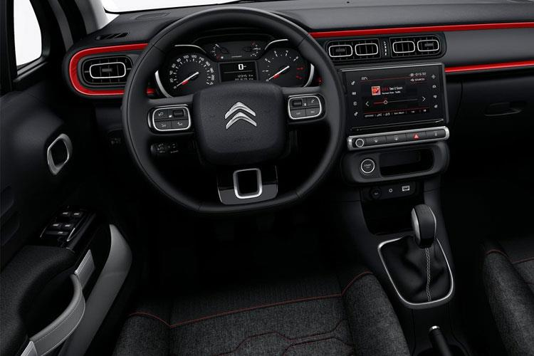 Citroen C3 Hatch 5Dr 1.2 PureTech 83PS Feel 5Dr Manual [Start Stop] inside view