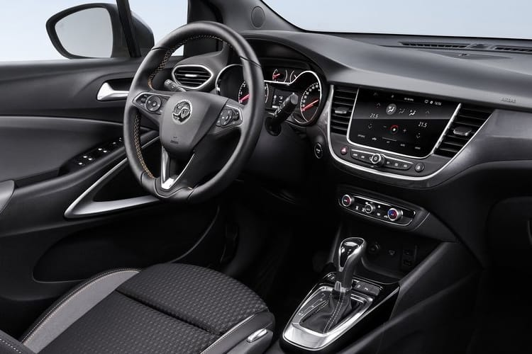 Vauxhall Crossland X SUV 1.5 Turbo D ecoTEC 110PS Business Edition Nav 5Dr Manual [Start Stop] inside view
