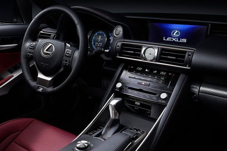 Lexus IS 300 Saloon 2.5 h 223PS IS 4Dr E-CVT [Start Stop] [Premium 17in] inside view