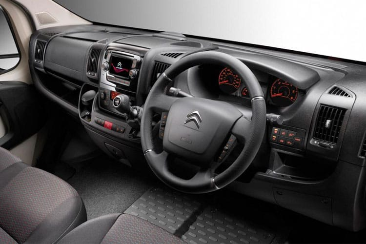 Citroen Relay 35 L3 2.2 BlueHDi FWD 140PS Ready to Run Plus Luton Manual [Start Stop] [Low-Floor] inside view