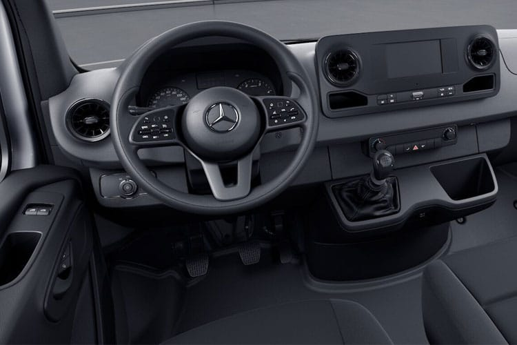 Mercedes-Benz Sprinter 317 L2 3.5t 2.0 CDi RWD 170PS Progressive Chassis Cab G-Tronic [Start Stop] inside view